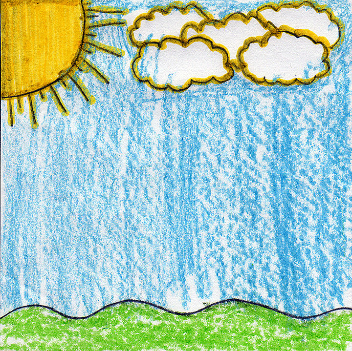 A kid's view of the weather