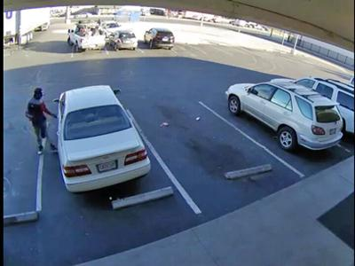 Kidnapping suspect and vehicle
