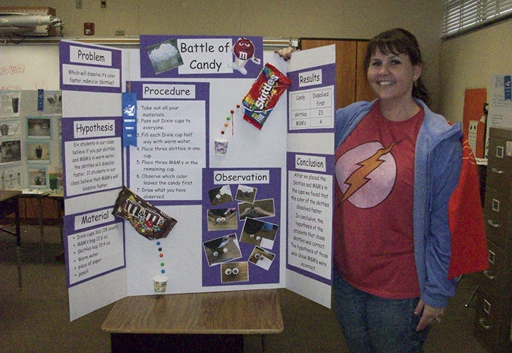 science fair projects with candy Candy is everywhere this week so we wanted to use it for learning we did a dissolving science experiment to dissolve the m off of an m&m.