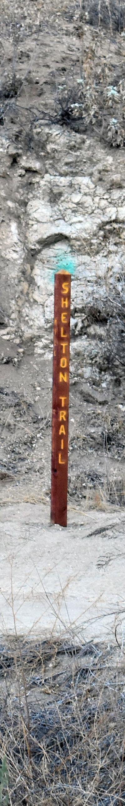 EAGLE TRAIL 1 mile marker