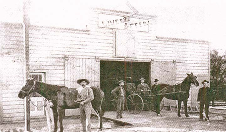 Highland's first livery stable