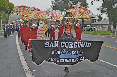 San G on the march