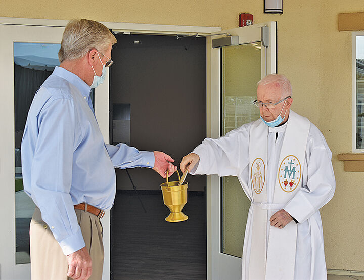 Father Mike Barry