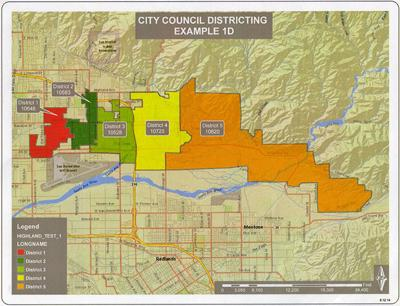 Highland's new City Council districts