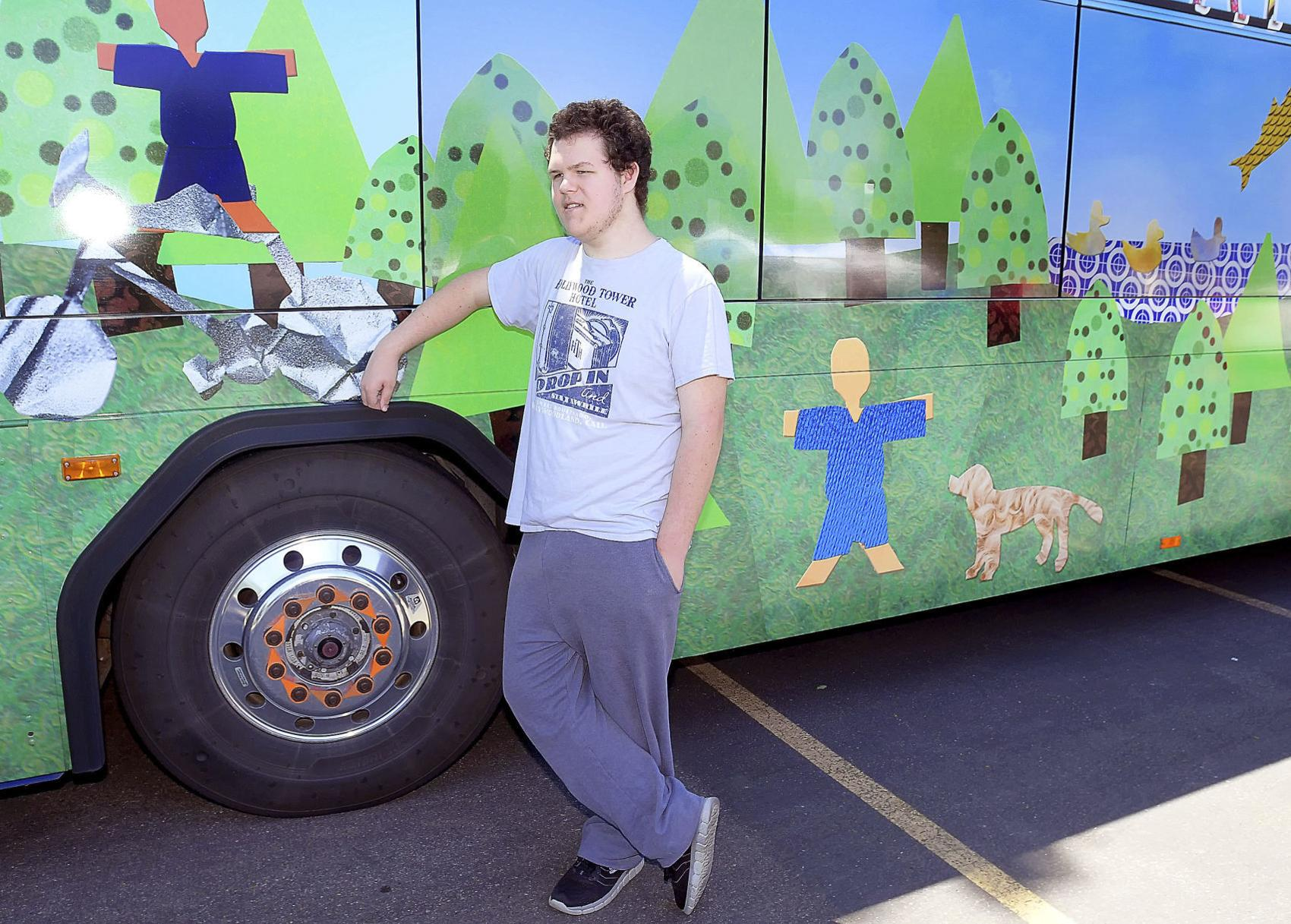 Art in Transit program unveils new bus art at Summerfest
