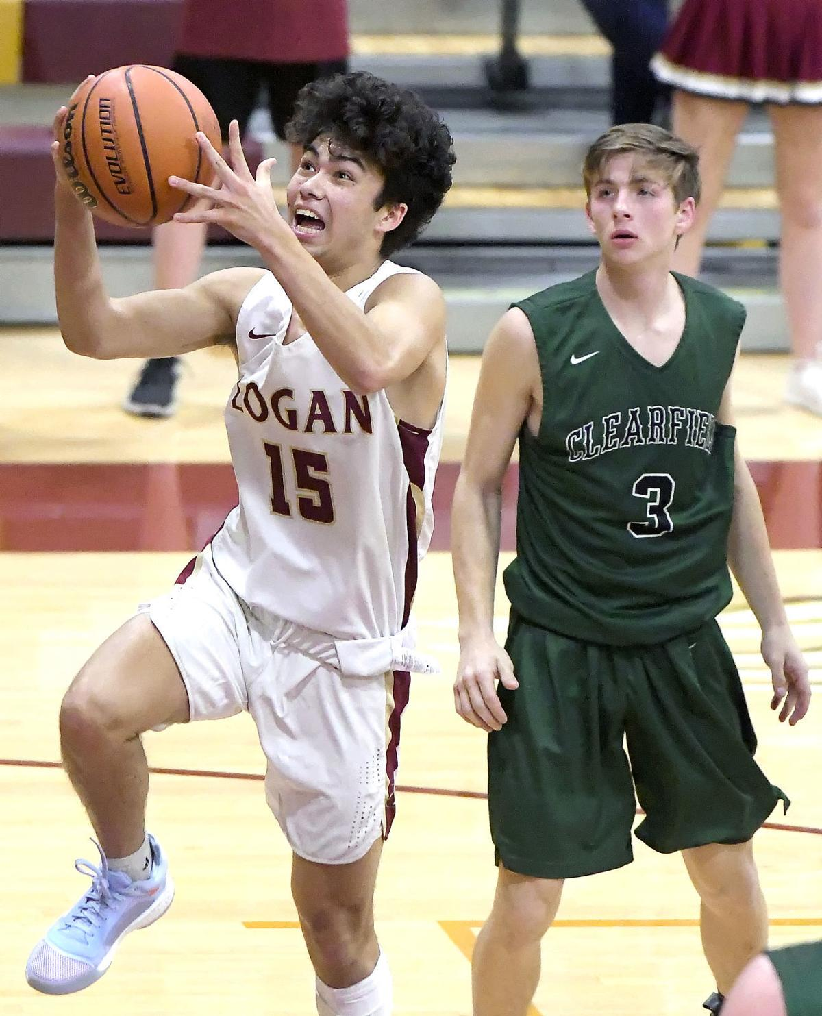 logan clearfield basketball SECONDARY