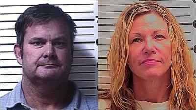 Chad and Lori Daybell (mugshots)