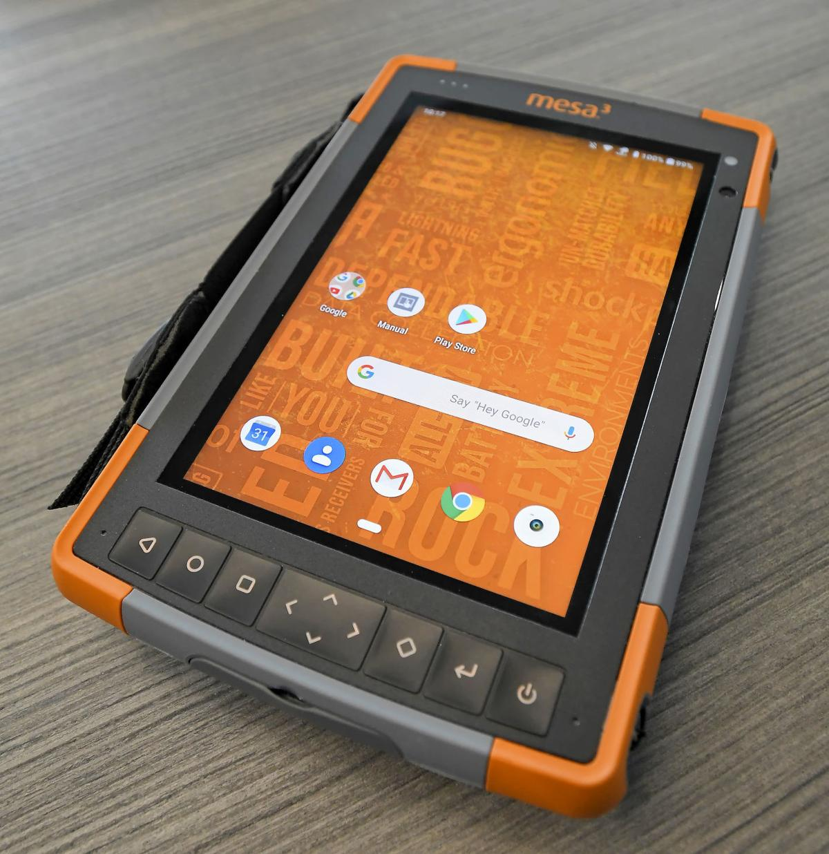 Rugged Tablet Running Windows