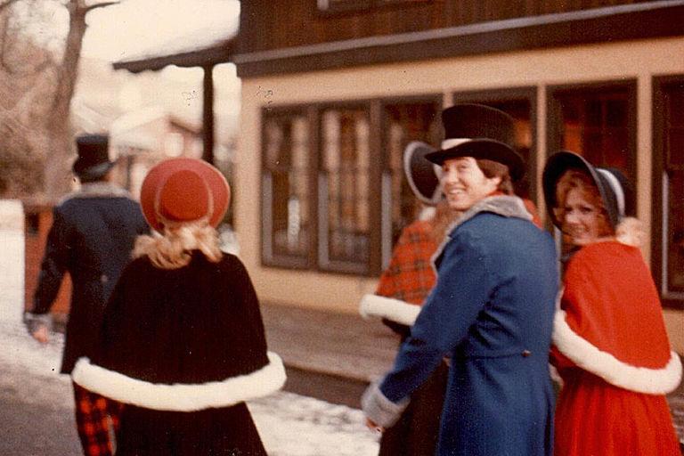 USU carolers in 1977