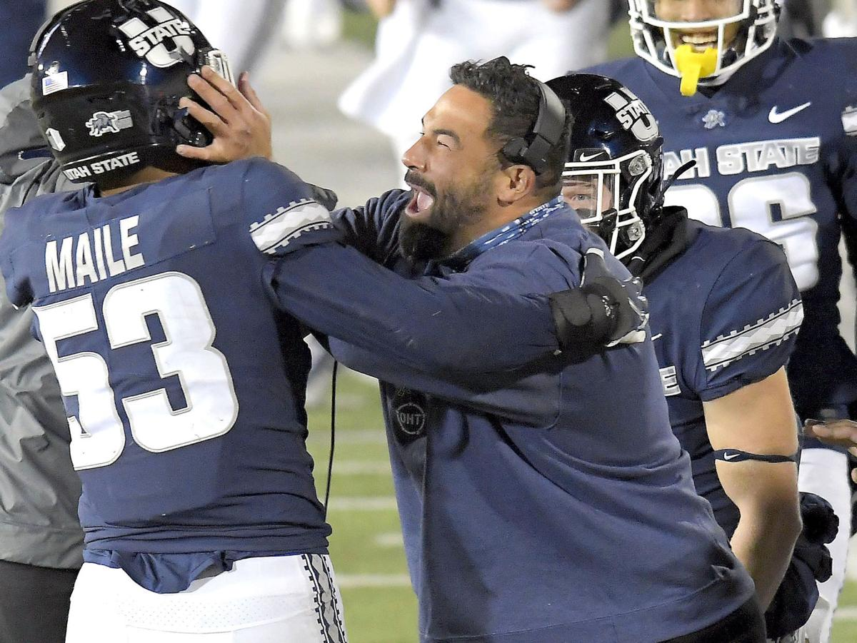 New Mexico Utah St Football MAILE