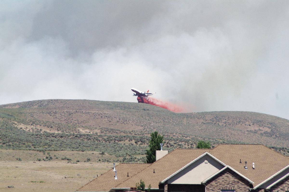 Radio Hill Fire secondary