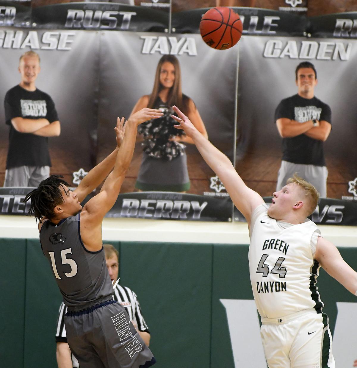 Green Canyon Hunter Basketball