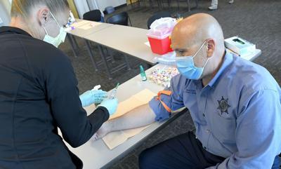 covid antibody test sheriff