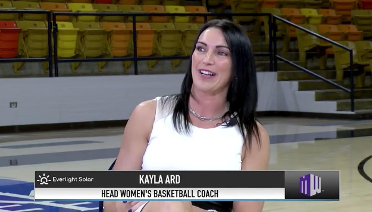 Kayla Ard introduced as Aggie women's hoop coach