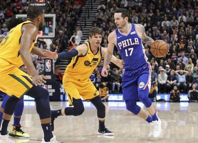 76ers Jazz Basketball