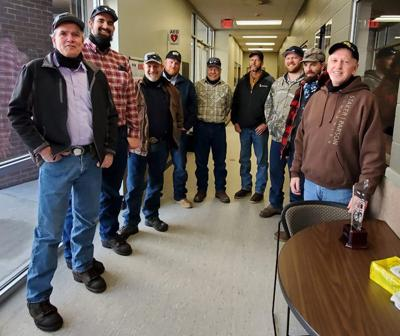 Montpelier maintenance shed employees