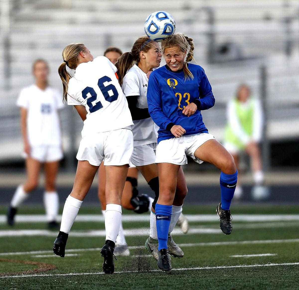 Mustangs fall in double overtime at state soccer semis