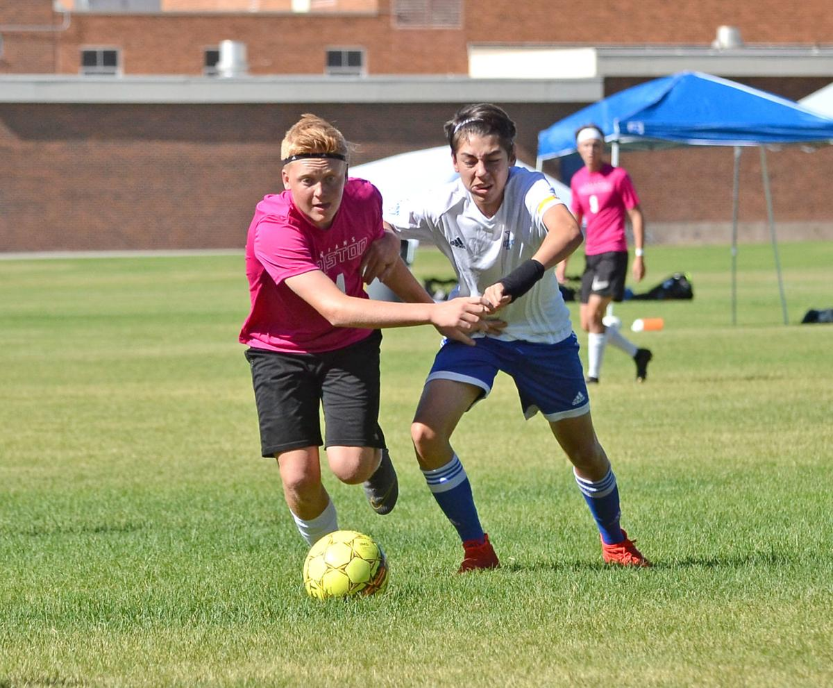 Preston players compete in Cache Valley Cup