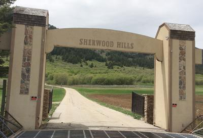 Sherwood Hills entrance