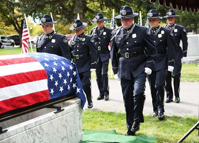 former police captain laid to rest with honors on saturday