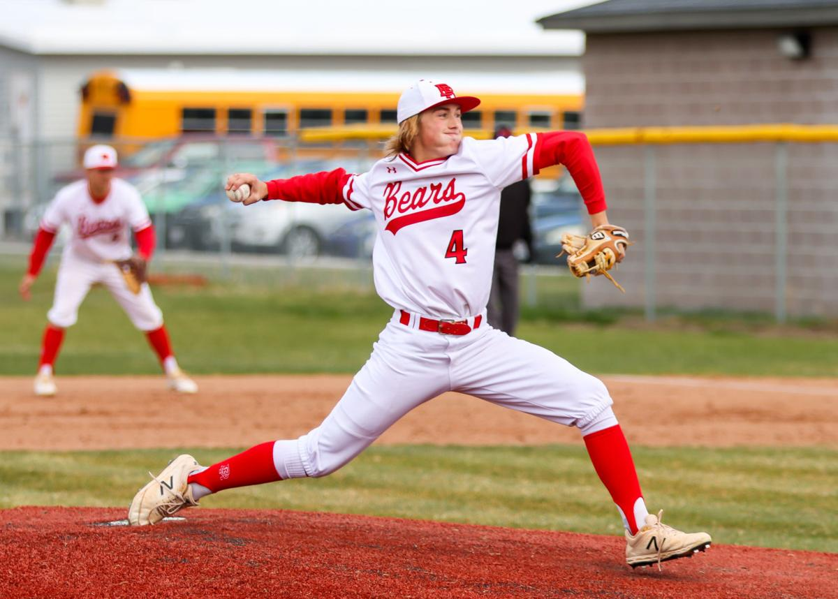 Baseball splits series with Sky View; Harrow pitches no-no