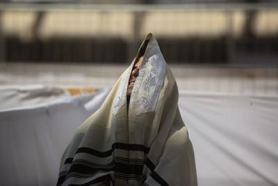 APTOPIX Virus Outbreak Israel Jewish New Year