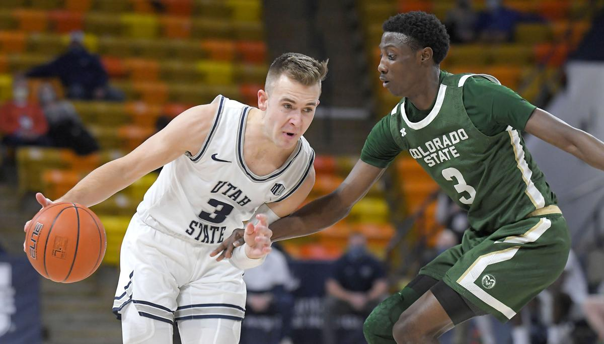 Colorado St Utah St Basketball