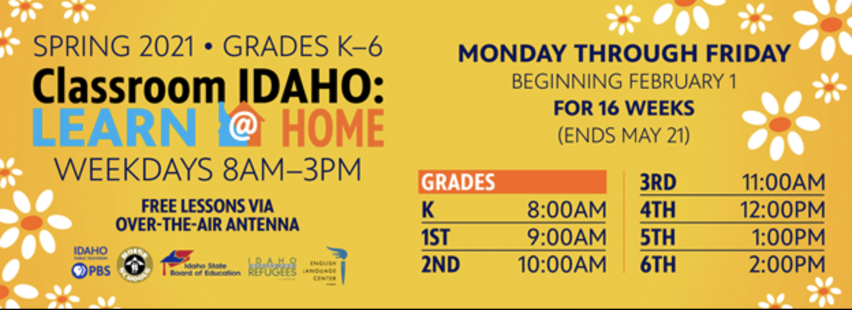 Idaho Public TV continues to offer free educational classes