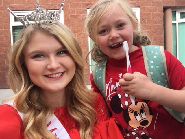 All smiles for local Miss Utah contestant