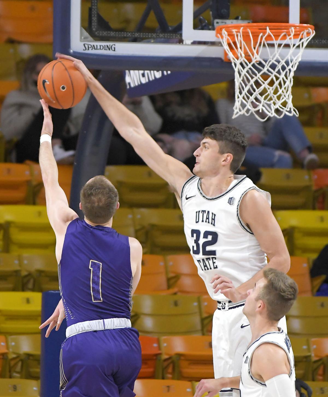 College of Idaho Utah St Basketball DORIUS