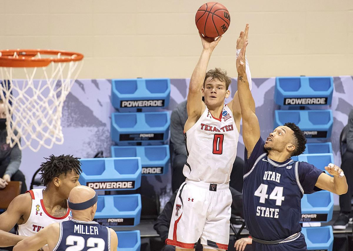 Texas Tech Utah St Basketball McClung (main photo)