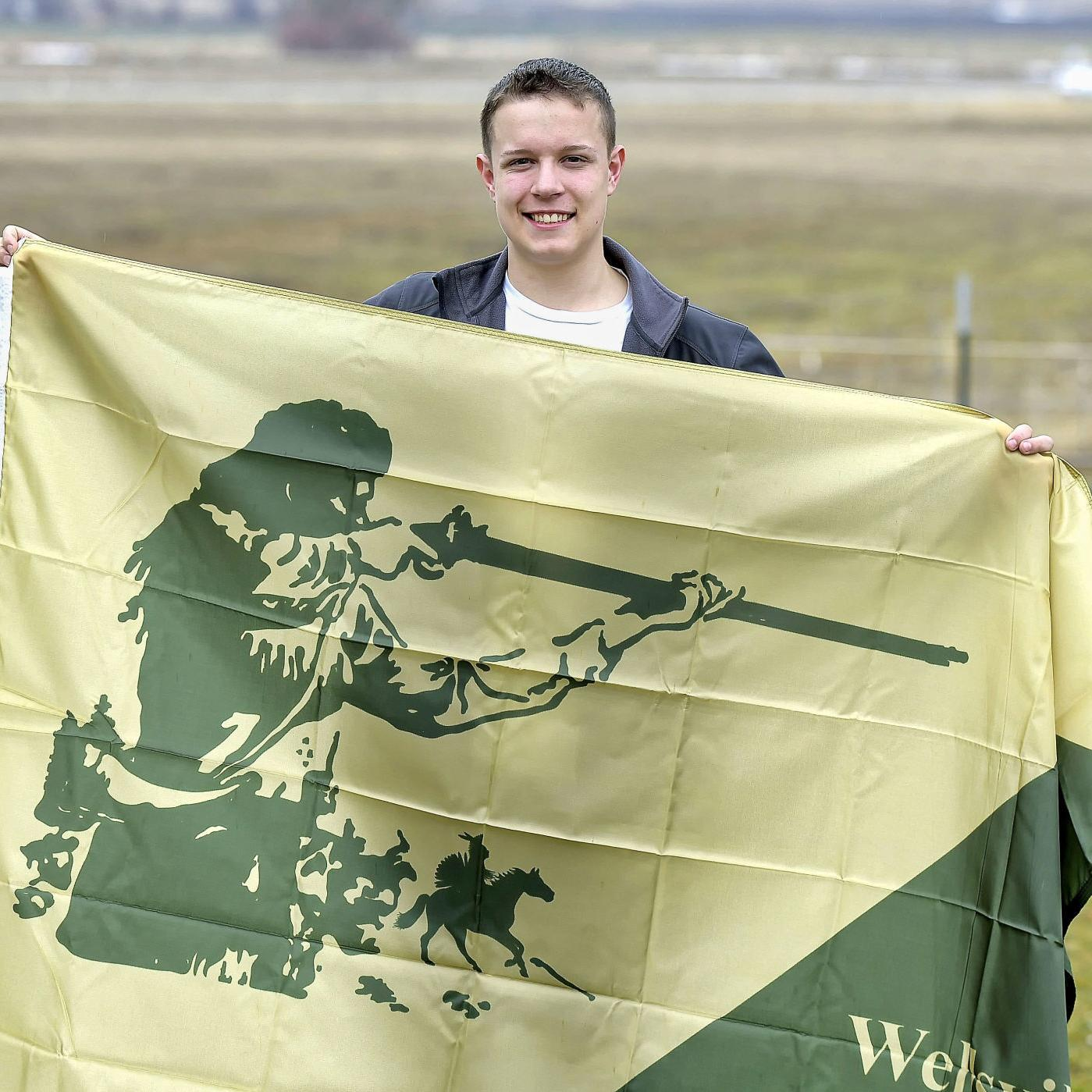 Bye-bye Bridger? Scout hopes to earn Eagle by redesigning Wellsville city flag