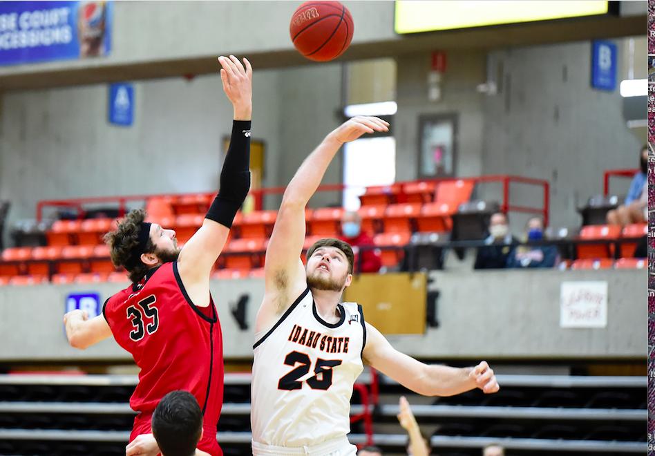 Brayden Parker Idaho State mens basketball EWU