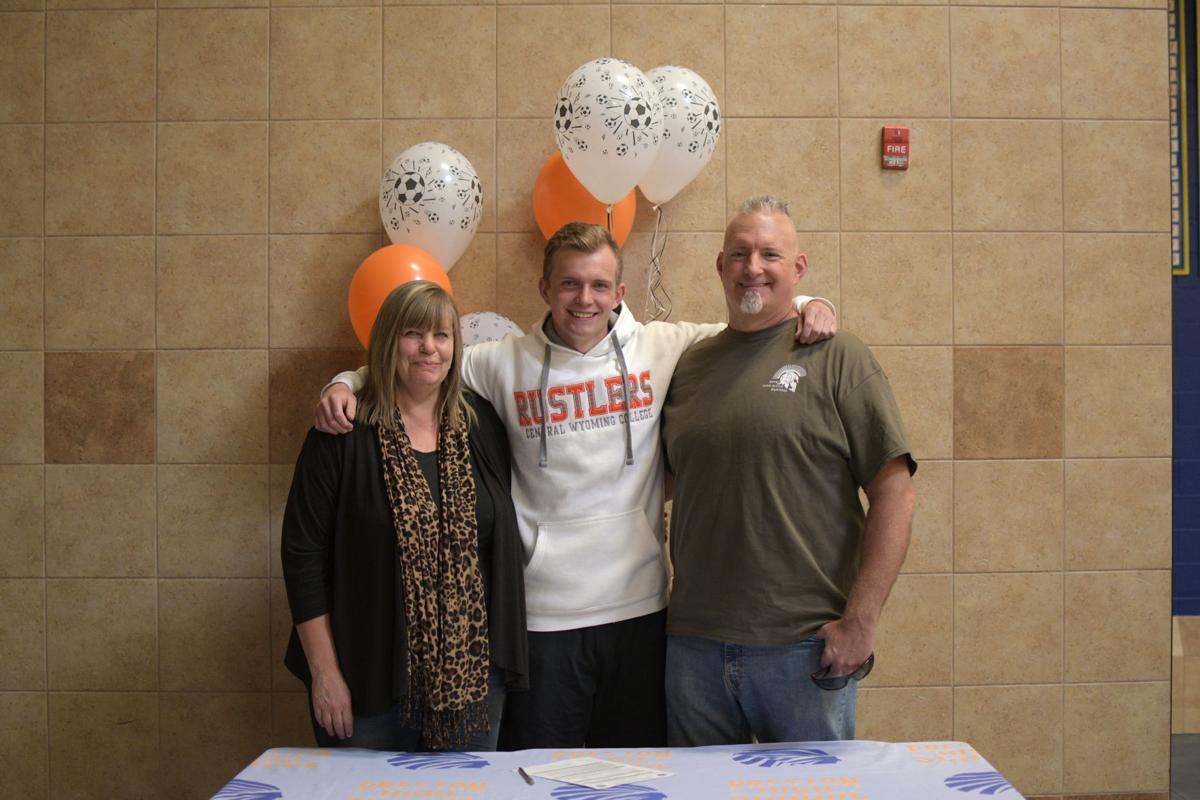 Ty Miller signs to play soccer in Wyoming