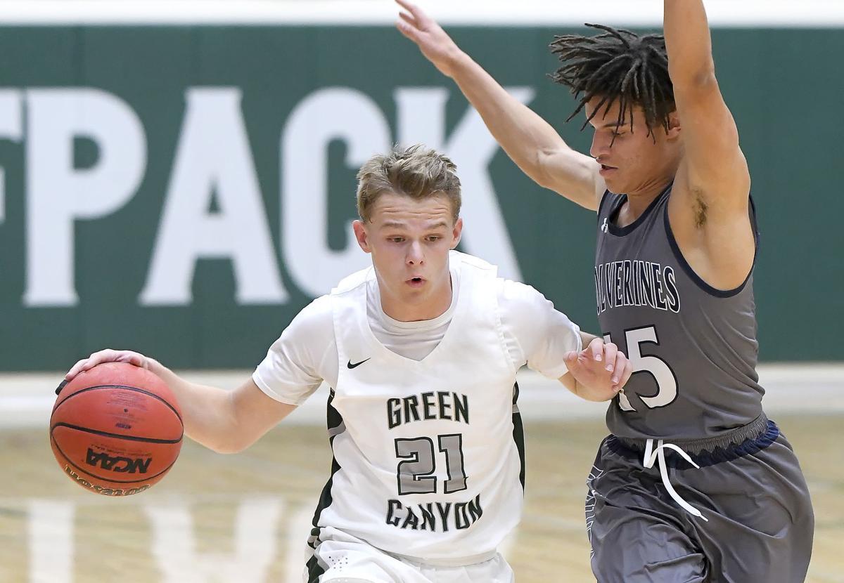 Green Canyon Hunter Basketball SECONDARY