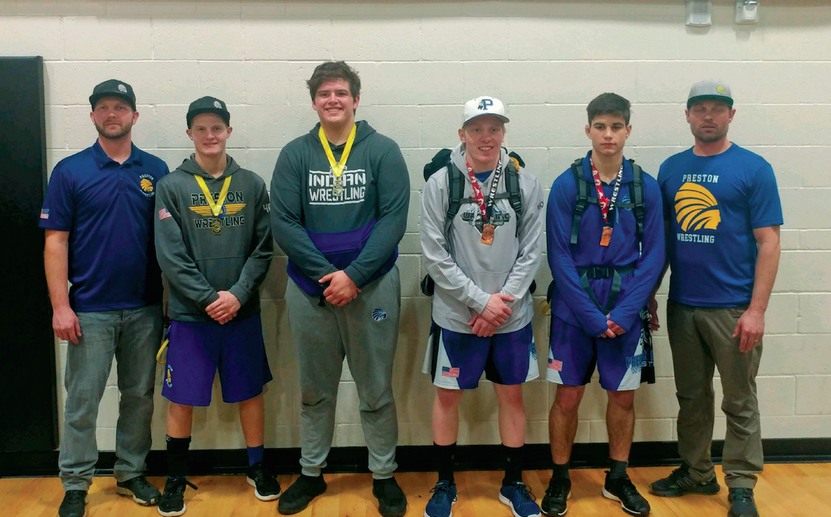 Four PHS grapplers qualify for state