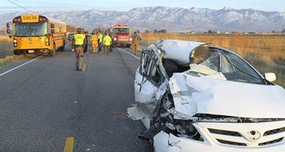 car-bus accident
