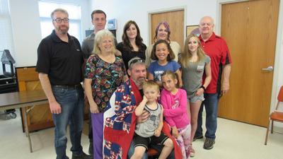 Richard Wright and family