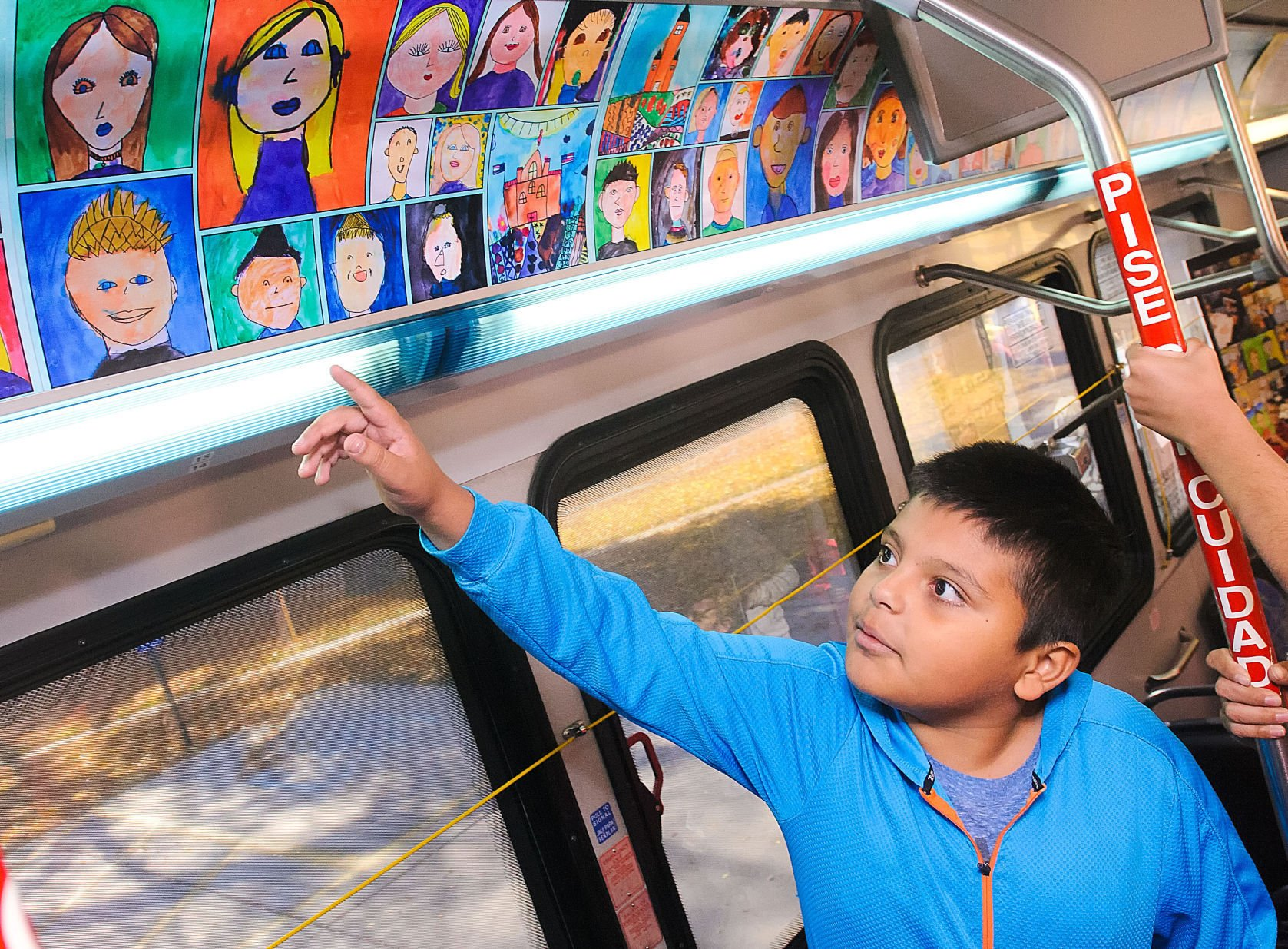 'Art in Transit' program continues to introduce student art to the community