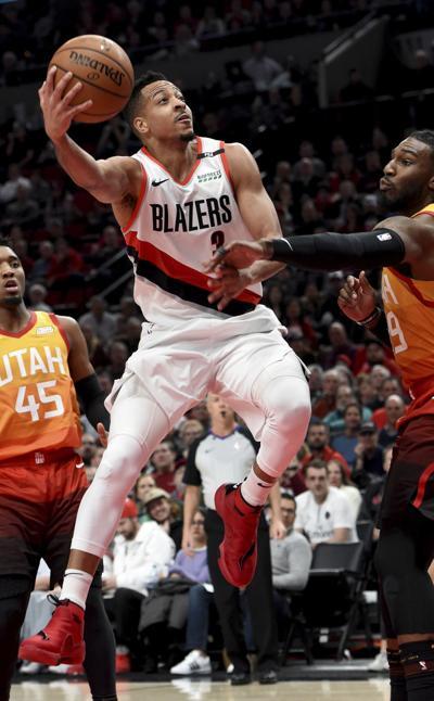 Jazz Trail Blazers Basketball (copy)