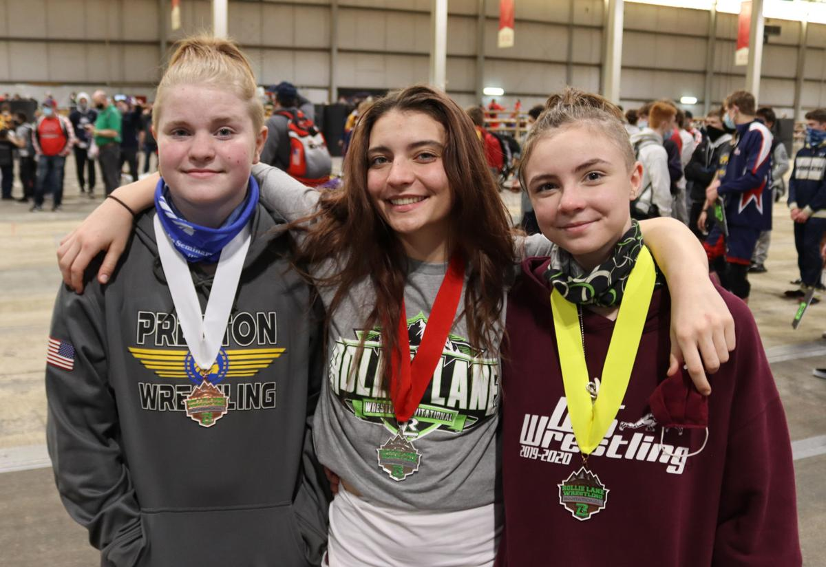 Local girls place at Rollie Lane Invitational