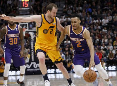 Suns Jazz Basketball (copy)