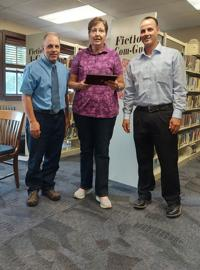 School Board thanks Shelly Thompson for 26 years of  service