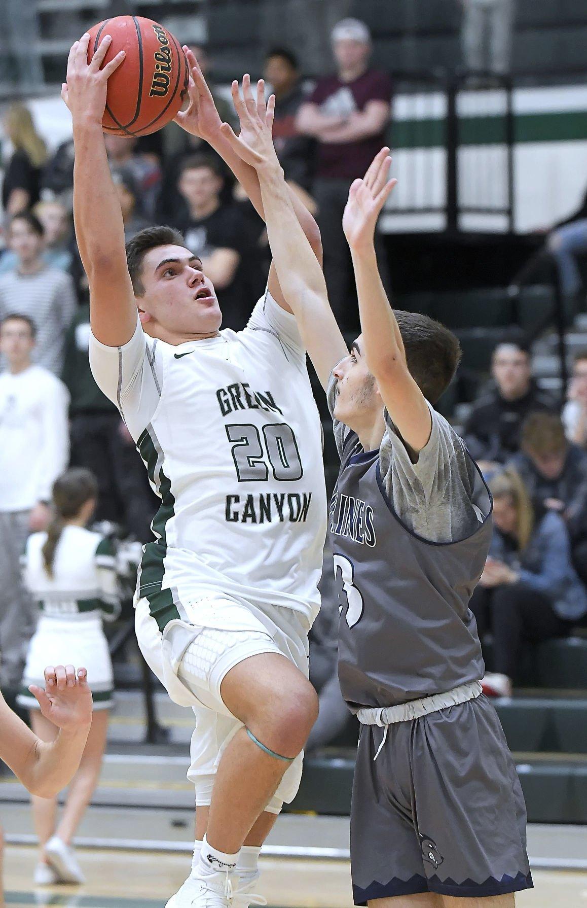 Green Canyon Hunter Basketball MAIN