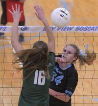 sky view green canyon volleyball