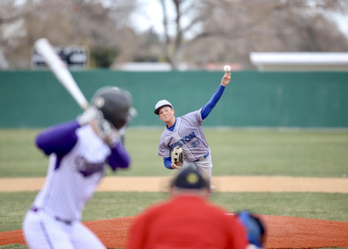 Preston baseball beats Century in cold, windy district opener