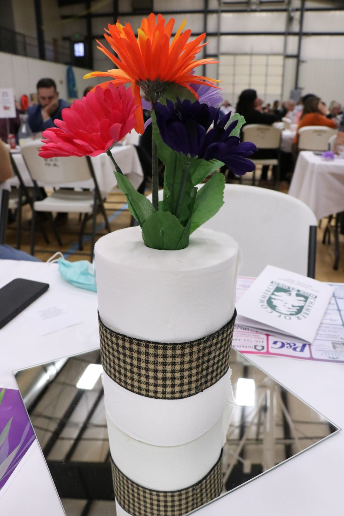 chamber awards 2021 TP vase