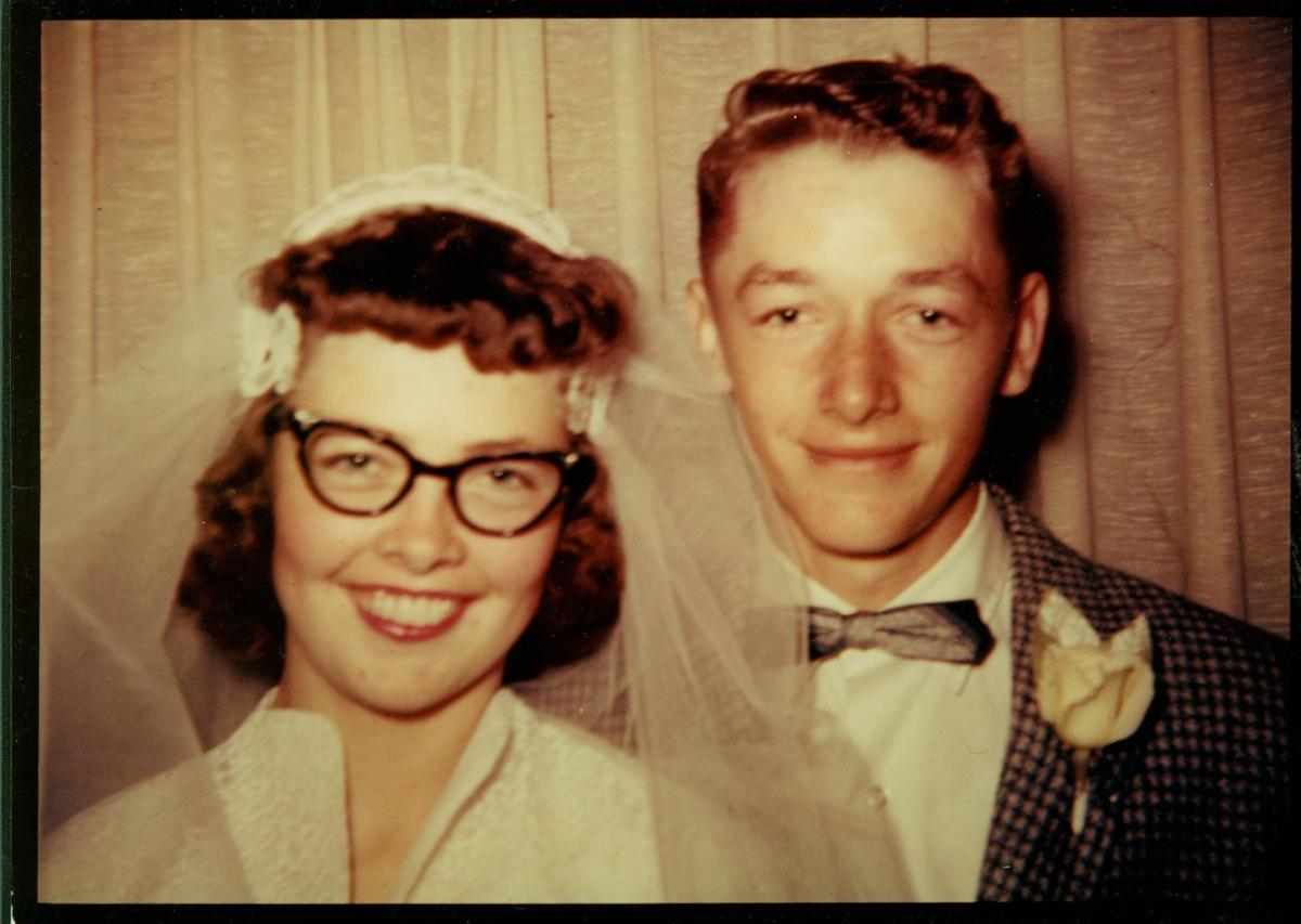 Ronald True and Thelma Harker Womack celebrate 60 years together