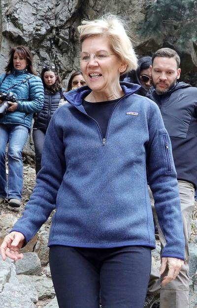 Election 2020 Elizabeth Warren Public Lands