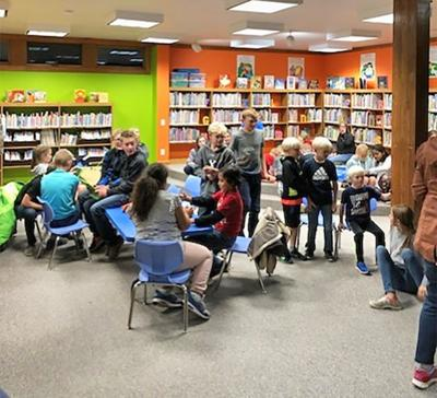 Cokeville Library Family Night